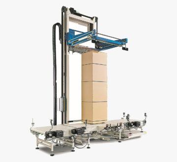 Mosca Evolution MS-6-H är en horisontell bandningsmaskin för pallar